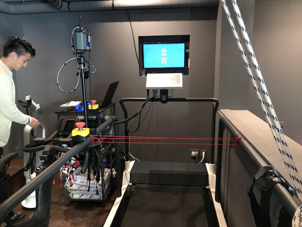 ランニングアビリティ測定機械