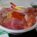 青森古市市場贅沢のっけ丼