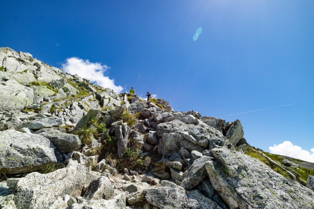 立山登山写真