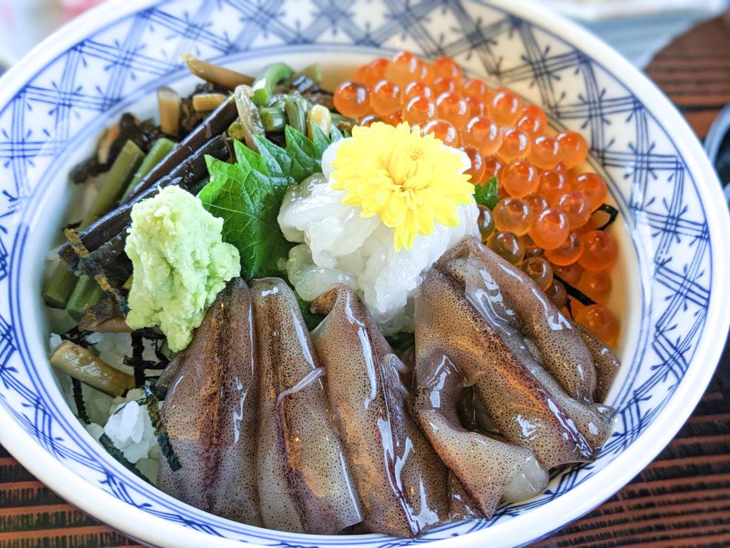 弥陀ヶ原ホテルの雲海丼定食