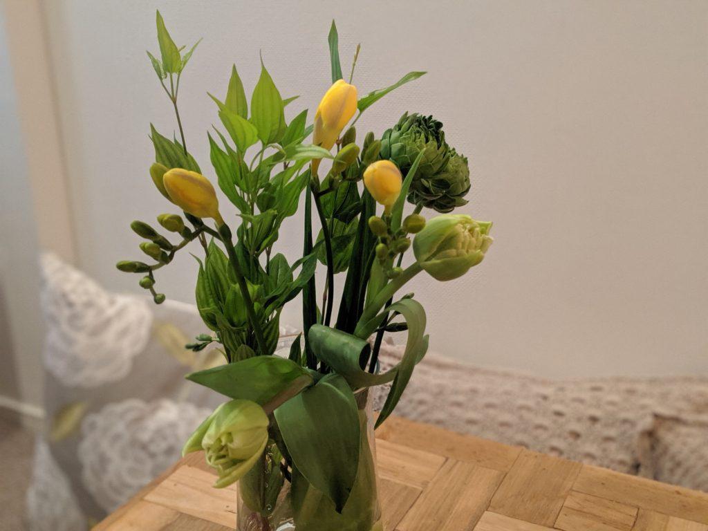 日比谷花壇ハナノヒのサクハナプラン1回分