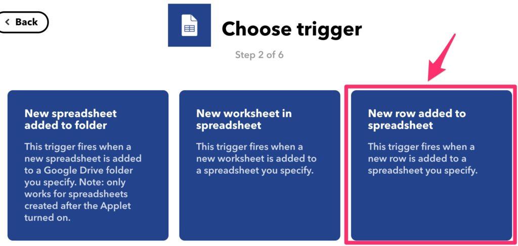 IFTTTを使ってスプレッドシートの更新をLINEに通知