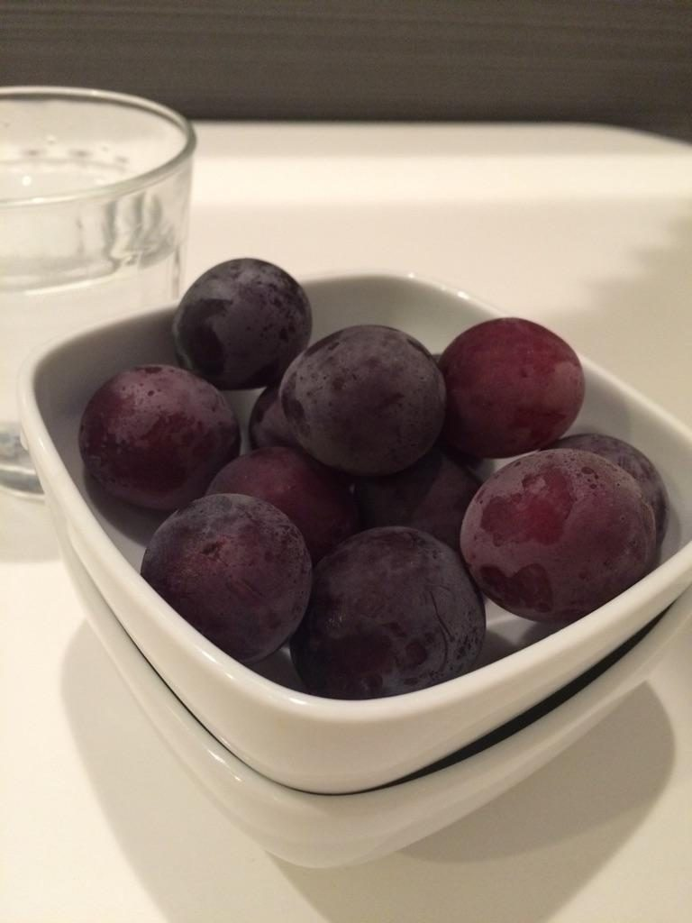 ぶどうの冷凍方法と食べ方