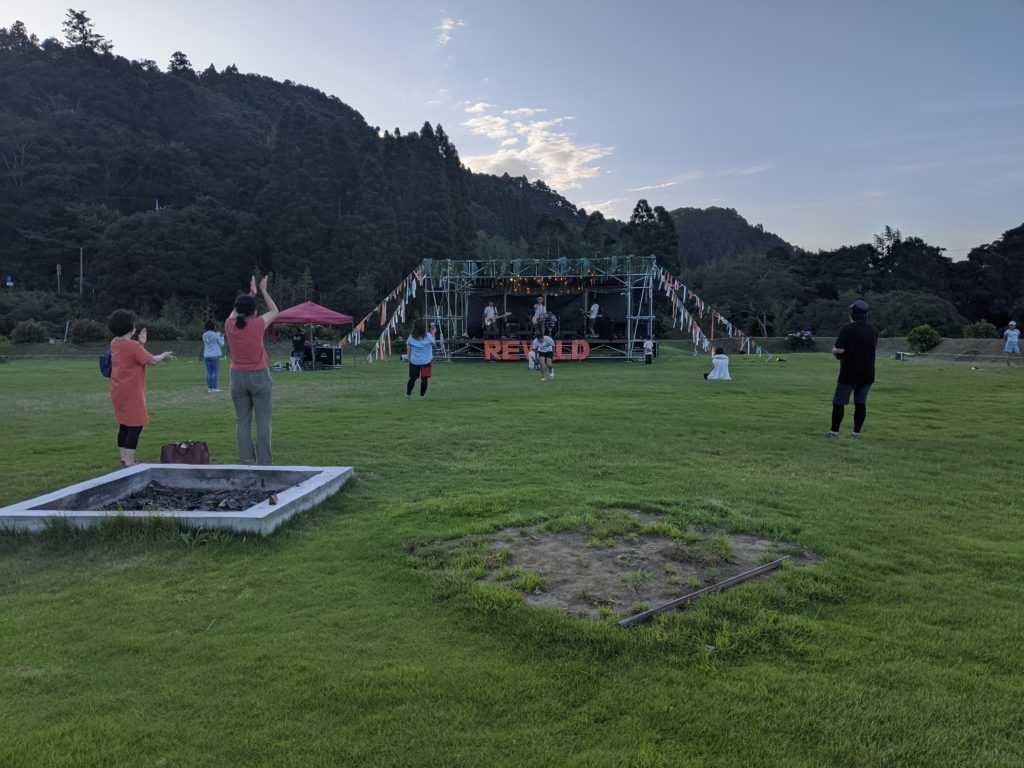 REWILD MUSIC FES CAMPは演奏自由