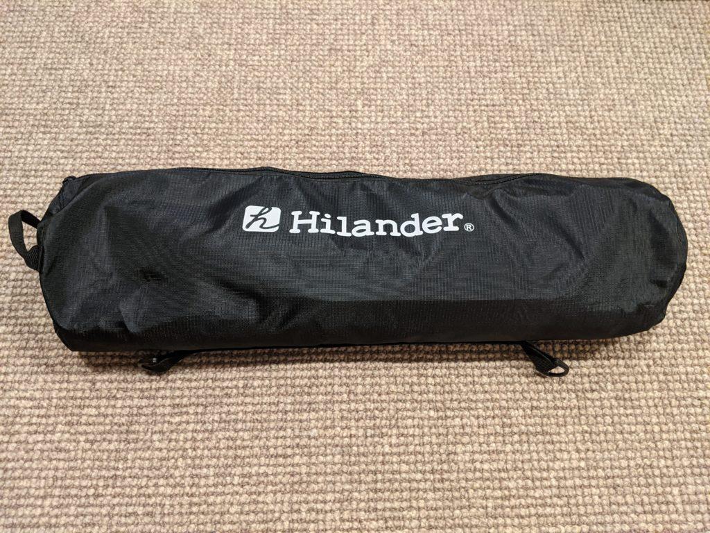 Hilander(ハイランダー) 軽量アルミローコット使ってみた(買ってよかったもの)